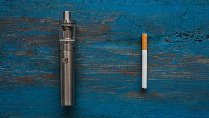 ニコチンの有無以外の電子タバコとの違い
