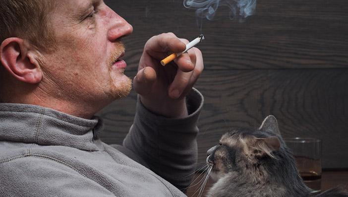 ペットを飼っている人が電子タバコを利用する際の注意点